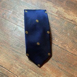FFA Blue Tie Embroidered FFA Gold Lettering